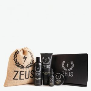 zeus everyday beard grooming kit
