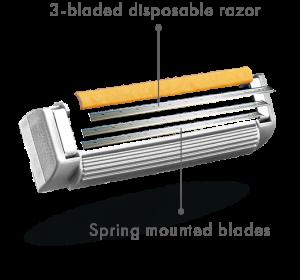 sensor3 razor blade