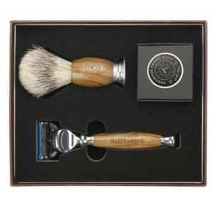 naked armor wet shave kit